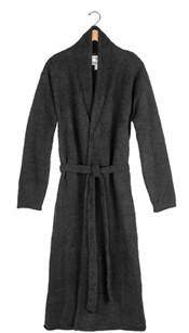Kashwere Solid Black Lightweight Robe