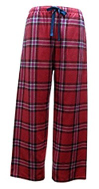 "Boxercraft Red and Blue Plaid ""Love"" Flannel Pajama Pant"