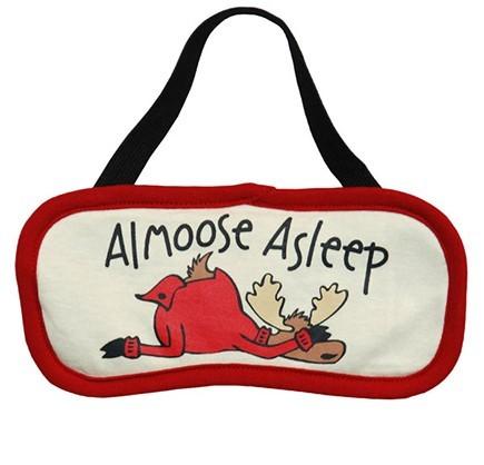 "Lazy One ""Almoose Asleep"" Eye Mask"