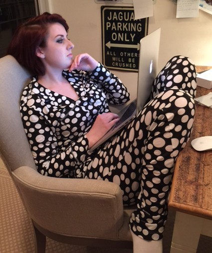 Love + Grace Bubbles Women's Pajama Set in Charcoal