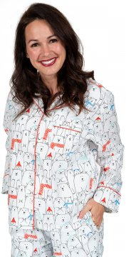 Daisy Alexander Beary Happy Classic Cotton Pajama Set