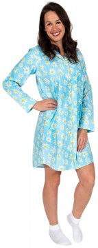 Daisy Alexander Oops-A-Daisy Classic Cotton Nightshirt