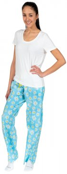 Daisy Alexander Oops-A-Daisy Cotton Pajama Lounge Pant