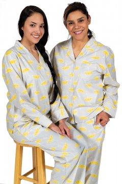 Daisy Alexander Rainy Day Classic Cotton Pajama Set