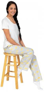 Daisy Alexander Rainy Day Cotton Pajama Lounge Pant