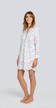 Daisy Alexander Beary Happy Classic Cotton Nightshirt
