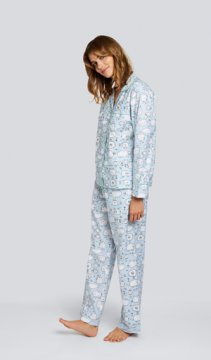 Daisy Alexander Very Sheepish Classic Cotton Pajama Set