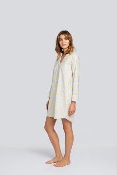 Daisy Alexander Rainy Day Classic Cotton Nightshirt