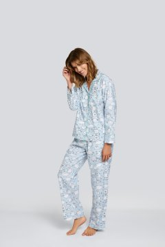 Daisy Alexander Very Sheepish Classic Cotton Pajama Set