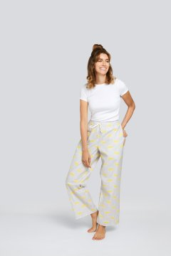 Daisy Alexander Rainy Day Cotton Pajama Lounge Pant