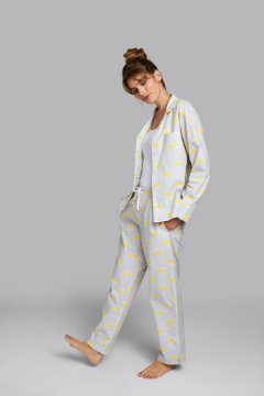 Daisy Alexander Rainy Day Classic Cotton Pajama Set