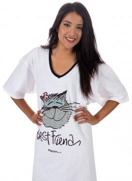 Emerson Street Best Friend Cat Nightshirt in a Bag