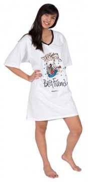 "Emerson Street ""Best Friend"" Dog Nightshirt in a Bag"