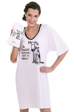 "Emerson Street ""Be Yourself"" Nightshirt in a Bag"