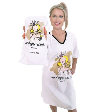 Emerson Street Her Majesty the Blonde Nightshirt in a Bag