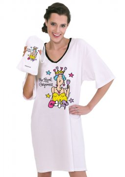 Emerson Street Her Royal Grapeness Nightshirt in a Bag