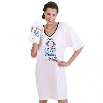 Emerson Street Nurses Make You Feel Better! Nighshirt in a Bag