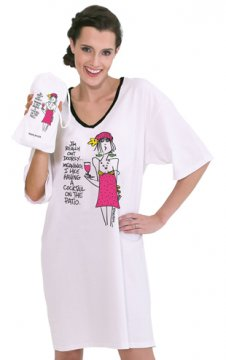 "Emerson Street ""I'm Really Out Doorsy...""  Nightshirt in a Bag"