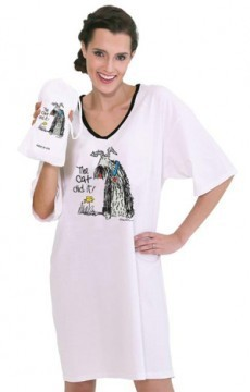 "Emerson Street ""The Cat Did It!"" Nightshirt in a Bag"