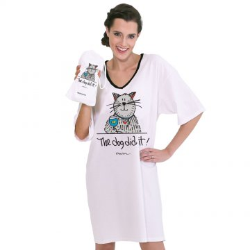 Emerson Street The Dog Did It! Nightshirt in a Bag
