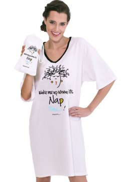 Emerson Street Wake me up when it's nap time Nightshirt in a Bag