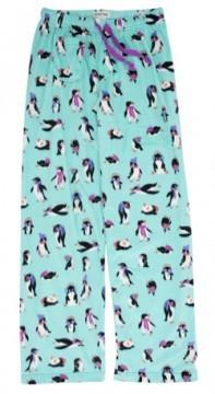 Little Blue House by Hatley Women's Cool Chicks Fuzzy Fleece Pajama Pant in Aqua