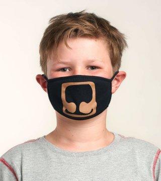 Little Blue House by Hatley Bear Non-Medical Reusable Kids Cotton Face Mask