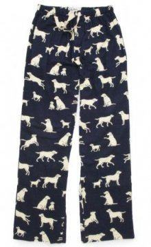 Little Blue House by Hatley Blue Labs Men's Flannel Pajama Pant