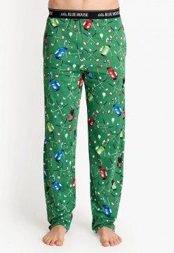 Little Blue House by Hatley Men's Golf Course Cotton Jersey Pajama Pant