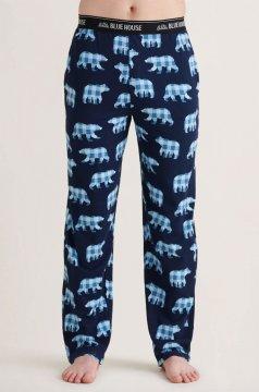 Little Blue House by Hatley Men's Papa Bear Cotton Jersey Pajama Pant