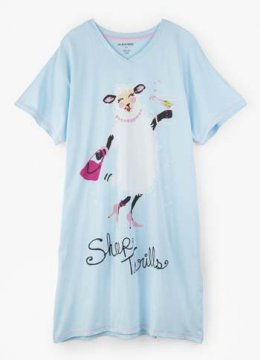 Little Blue House by Hatley Sheep Thrills Nightshirt in Blue