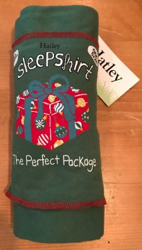 Little Blue House by Hatley The Perfect Package Nightshirt in Green