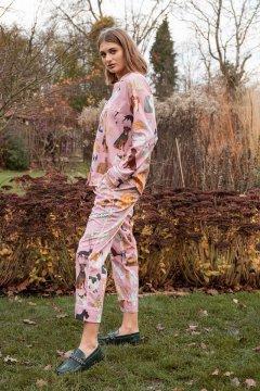 Karen Mabon Crufts Cotton Lawn Classic Pajama Set
