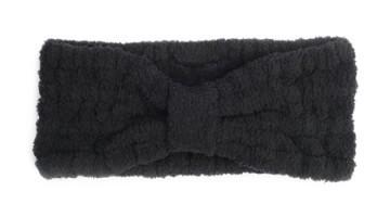 Kashwere Spa Head Wrap in Black