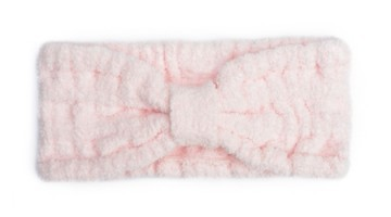 Kashwere Spa Head Wrap in Pink