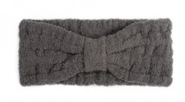 Kashwere Spa Head Wrap in Slate