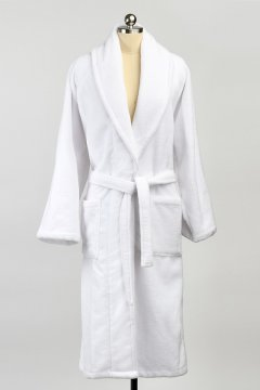 Kashwére Kapua Robe in White