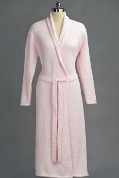 Kashwére Pink Seasonless Robe