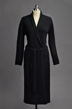 Kashwere Solid Black Seasonless Robe
