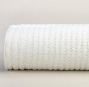 Kashwére Waffle Weave Throw in White