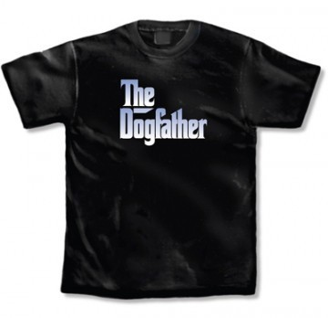 La imprints the dogfather t shirt in black for La imprints t shirts