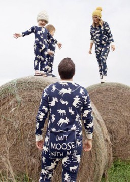 Lazy One Adult Classic Moose FlapJack in Navy