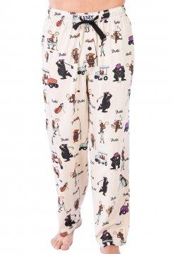 Lazy One Men's Golfers Cotton Knit Pajama Pant