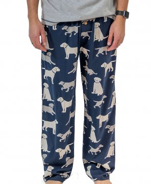 Lazy One Men's Lab Cotton Knit Pajama Pant