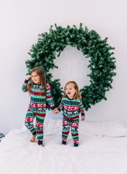 Lazy One Kids Unisex Sweater Bear FlapJack