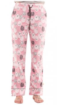Munki Munki Women's Black Sheep Flannel Pajama Pant