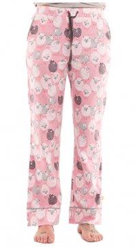 Munki Munki Women's Black Sheep Flannel Pajama Pant
