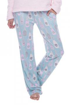 Munki Munki Women's Champagne Dreams Jersey Slim Pajama Pant