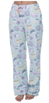 Munki Munki Women's Fancy Cheese Flannel Pajama Pant