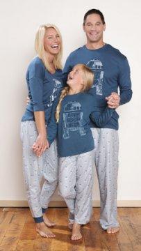 Munki Munki Men's R2D2 Tee and Pajama Pant Set